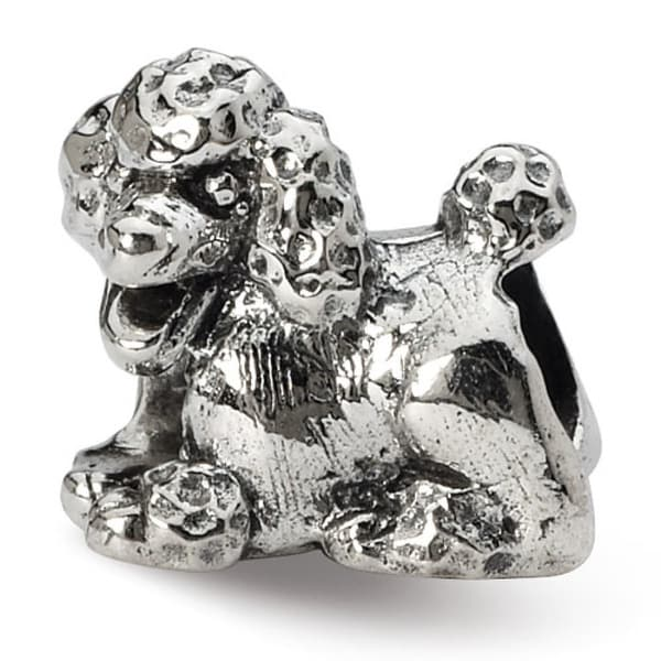Sterling Silver Reflections Poodle Bead (4mm Diameter Hole)