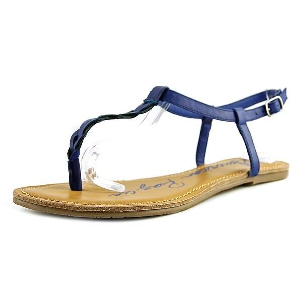 American Rag Krissy Women Open Toe Synthetic Blue Thong Sandal