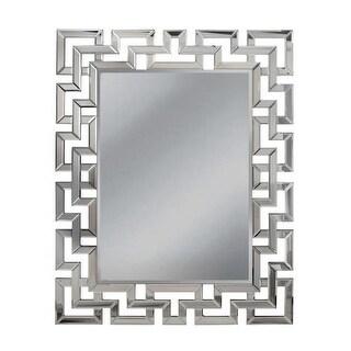 "Mirror Masters MG5472 Greek Key 37"" Rectangular Mirror with Decorative Frame"
