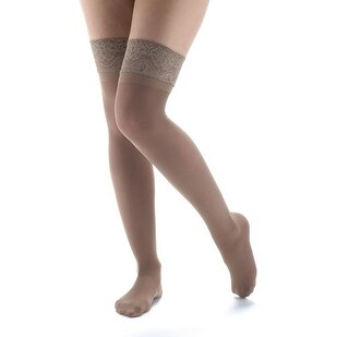 Women's Moderate Support Compression Thigh High Stockings
