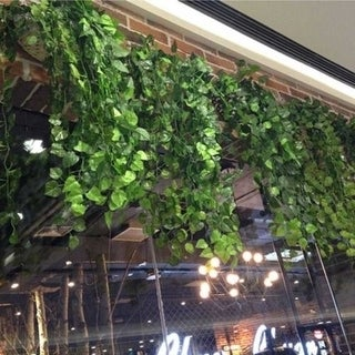 Artificial Silk Ivy Vine Leaf Hanging Garland Wedding Home Decor