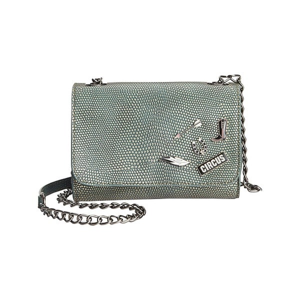 8f258845d5 Circus by Sam Edelman Womens Braden Crossbody Handbag Faux Leather  Embellished