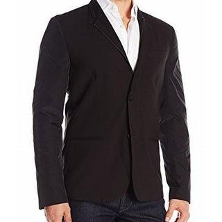 Kenneth Cole Reaction NEW Men's Black Size Large L Contrast Sport Coat