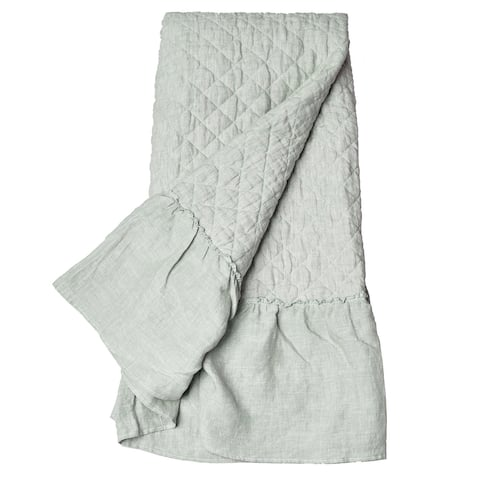 Cassandra Ruffled Baby Quilt