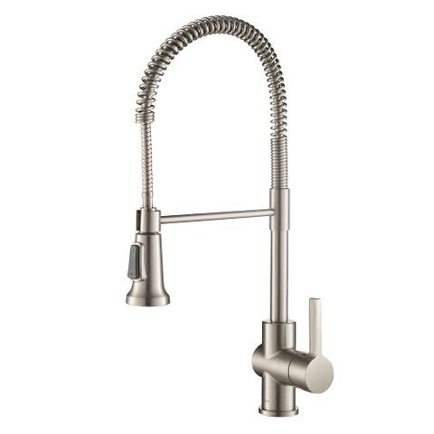 Kraus KPF-1690 Britt Commercial 2-Function Pulldown Kitchen Faucet