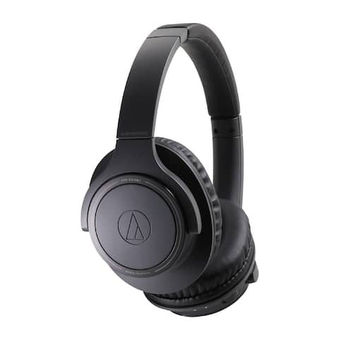 Audio-Technica ATH-SR30BT Wireless Over-Ear Headphones (Charcoal Gray)