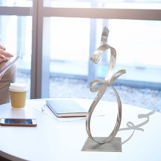Statements2000 Metal Art Accent Sculpture Centerpiece Table Decor by Jon Allen - Allure