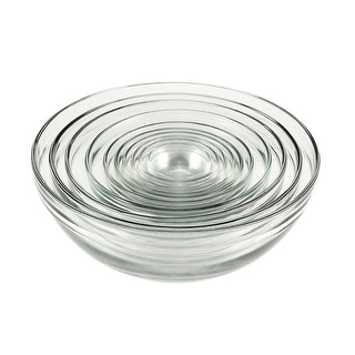 Anchor Hocking 82665L11 10 Piece Glass Mixing Bowl Value