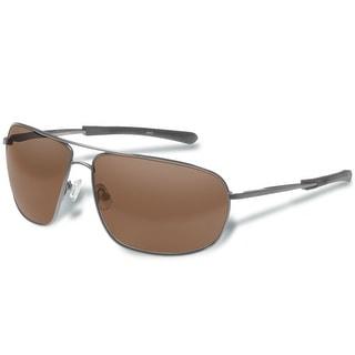 Gargoyles SHINDAND POLARIZED SHINY GUN/BROWN Sunglasses