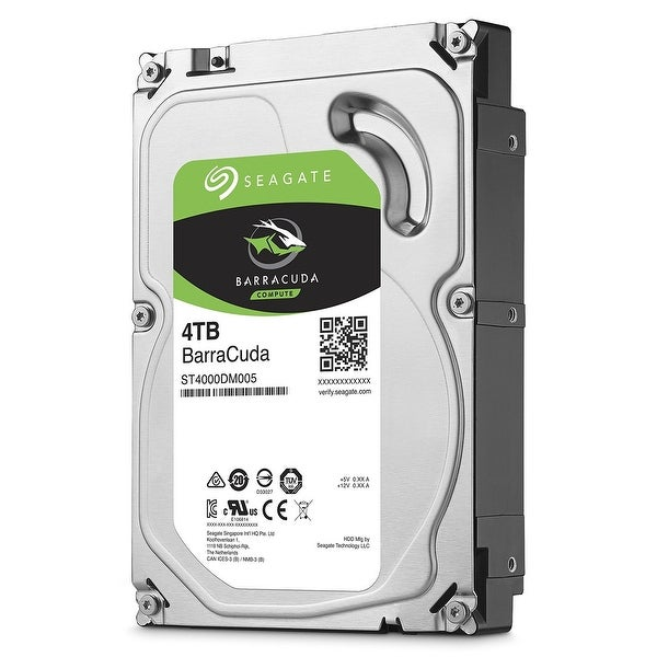 "Seagate St4000dm005 4Tb Barracuda Sata 6Gb/S 64Mb Cache 3.5"" Internal Hard Drive"