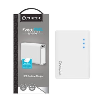 Quikcell PowerFuel Extreme USB Portable Charger 5200 mAh
