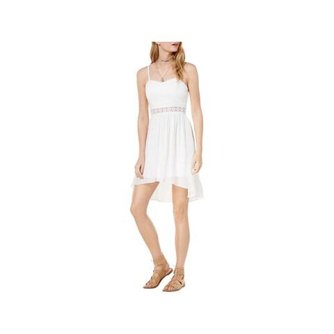BCX Womens Juniors Mini Dress Illusion Hi-Low - 13