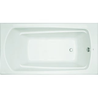 "Mirabelle MIRBDS6032  Bradenton 60"" X 32"" Drop-In Soaking Tub with Reversible Drain"