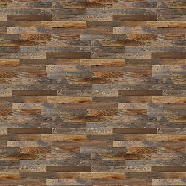 Shop Belleze Solid Pine Barn Wood Board Diy Wall Panels Simple