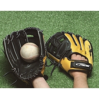 Sportime Yeller Intermediate Right-Handed Thrower Baseball Glove, Ages 10 to 16