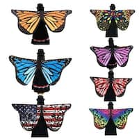 Bohemia Butterfly Wings Tapestry Chiffon Shawl Cover Up