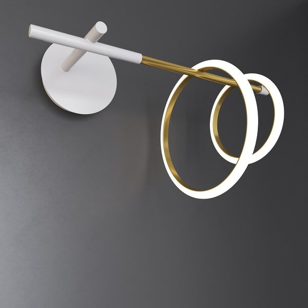 Glow's Avenue Loop Sconce Double Ring
