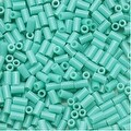 Toho Bugle Tube Beads Size 1 / 2x3mm Opaque Turquoise 8 Grams - Thumbnail 0