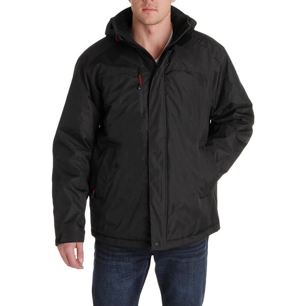 a487b3eb020 Shop Hawke & Co. Mens Parka Coat Water Resistant Thinsulate - Free ...