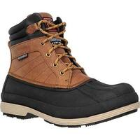 Skechers Men's Robards Slip Resistant Work Boot Brown