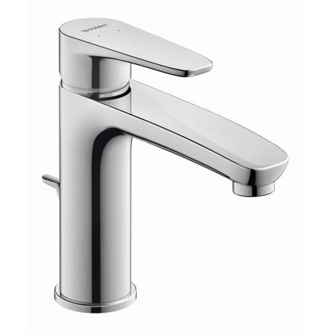 Duravit B11020 B.1 1.1 GPM Single Hole Bathroom Faucet with Pop-Up - Chrome