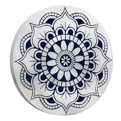 "Floral Medallion Wall Decor (17"")"