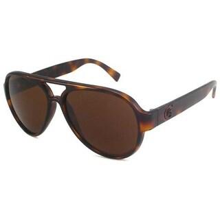 Guess 6672 TO-1 Tortoise Mens Plastic Aviator Sunglasses