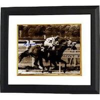 Shop Secretariat signed 1973 Belmont Stakes Sepia 8x10 Photo 2
