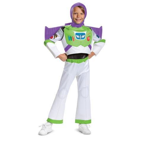 Boys Deluxe Buzz Lightyear Toy Story Costume