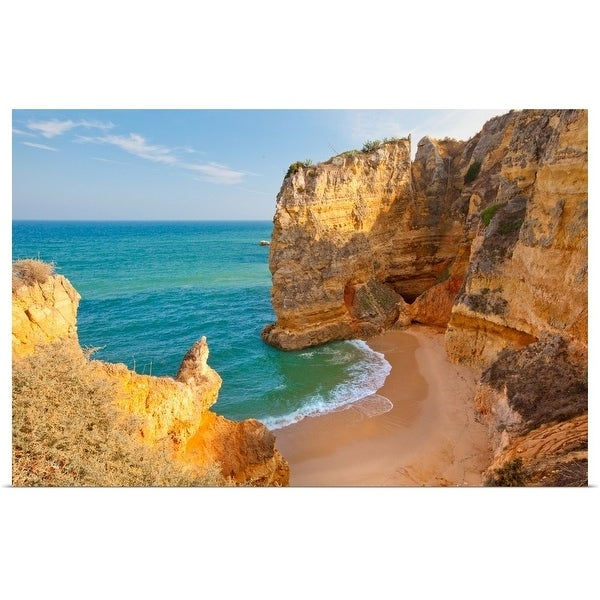 """Dona Ana Beach Lagos, Algarve, Portugal."" Poster Print"