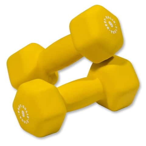 Body-Solid Vinyl Dumbbells (Pairs)