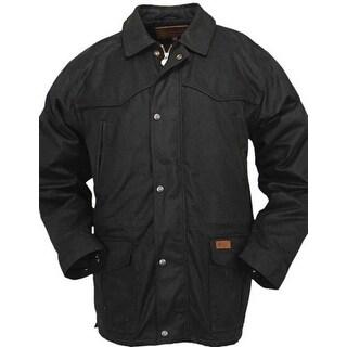 Outback Trading Jacket Mens Pathfinder Oilskin Waterproof Zipper 2707