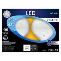 60 watts Equivalent Soft White G25 Globe Dimmable LED Light Bulb -