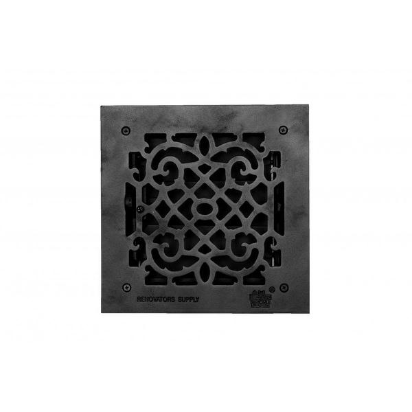 Floor Heat Register Louver Vent Cast 8 x 8 Duct