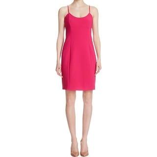 MICHAEL Michael Kors Womens Slip Dress Textured Spaghetti Straps