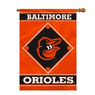 Fremont Die Inc Baltimore Orioles House Banner 1- Sided House Banner