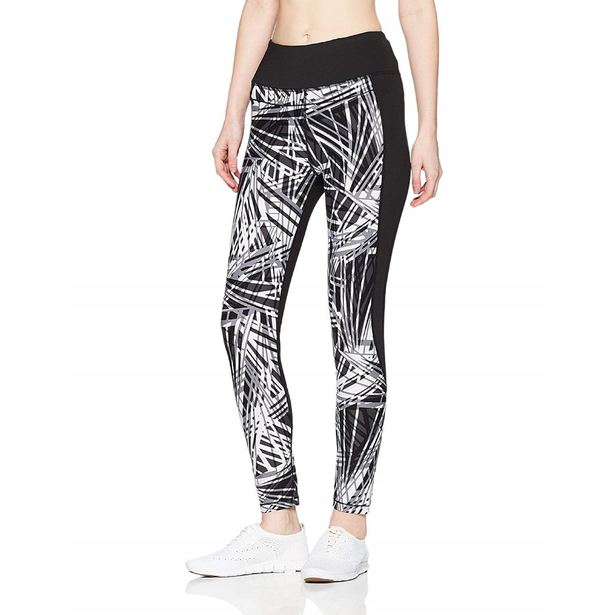 Women/'s High Waisted Cropped Leggings Size Small S