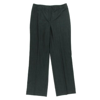 Jones New York Womens Heathered Flat Front Dress Pants - 8