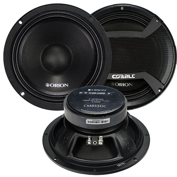 Orion Cobalt Cm855Dc Mid-Bass N/Bullet 8 Inches With Grill Pair