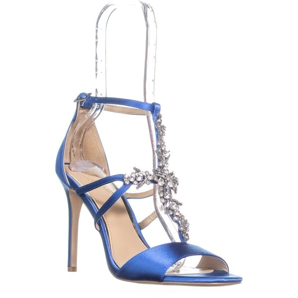 e84e842e1ce Shop Jewel Badgley Mischka Galvin Strappy Evening Sandals
