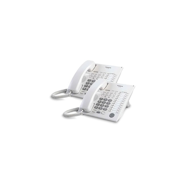 Panasonic-KX-T7720-White (2 Pack) Speakerphone Telephone