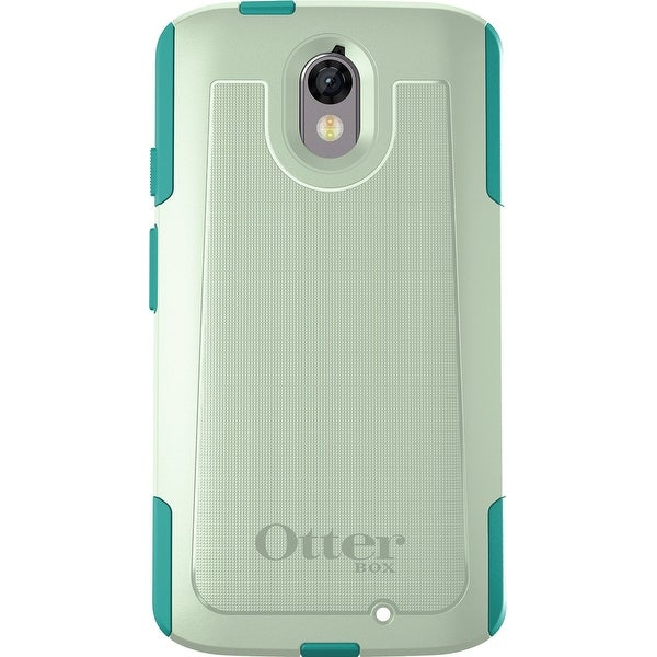 OtterBox Commuter Series Case for Motorola Droid Turbo 2 - Sage Green/Light Teal