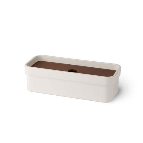 WS Bath Collections Curva 5148 Wall Mounted Soap Dish from the Curva Collection - N/A