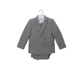 Wallao Boys Formal Suit Flap with Shirt and Vest Gray (Option: 5t)|https://ak1.ostkcdn.com/images/products/is/images/direct/4d28a3e5b09e9d0d66aa250b919118a8d07662cb/Wallao-Boys-Formal-Suit-Flap-with-Shirt-and-Vest-Gray.jpg?impolicy=medium
