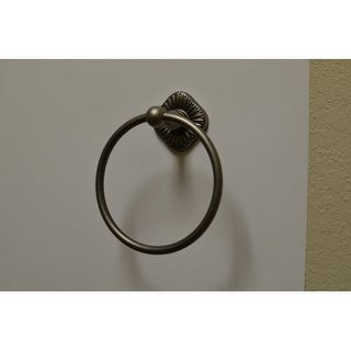 Residential Essentials 2686 6-3/8 Inch Diameter Towel Ring from the Prescott Col