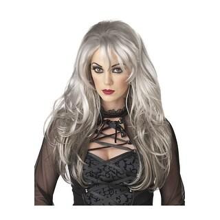 California Costumes Fallen Angel Costume Wig (Grey) - grey