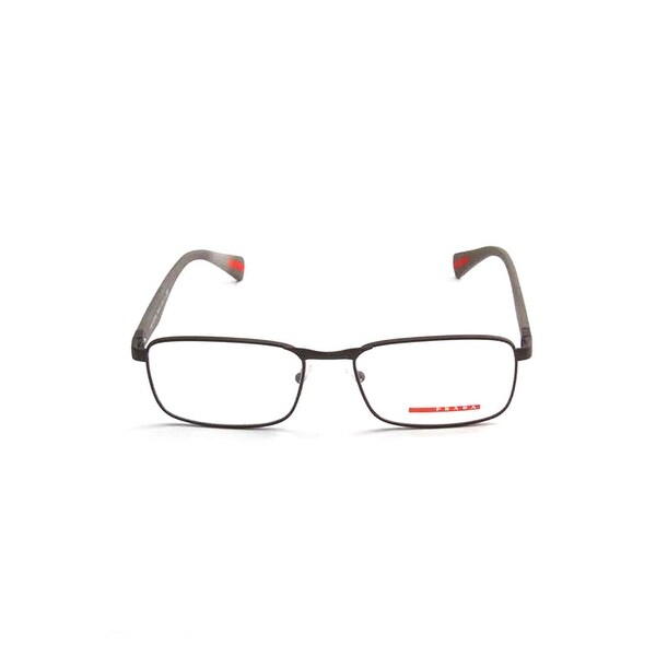 7bee4795549 Shop Prada Linea Rossa Optical Eyeglasses In Black Rubber - Black Rubber - One  Size - Free Shipping Today - Overstock - 26301401