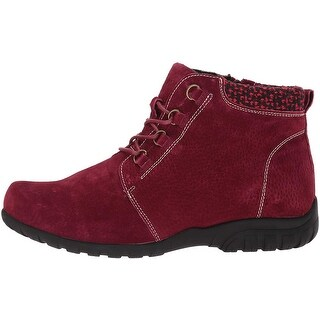 Propét Womens Delaney Leather Closed Toe Ankle Fashion Boots