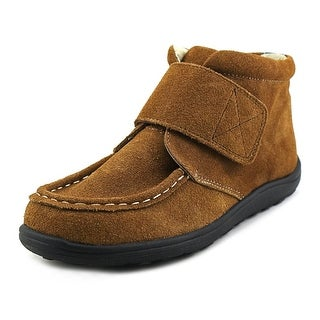 See Kai Run Colton Youth Round Toe Suede Brown Boot