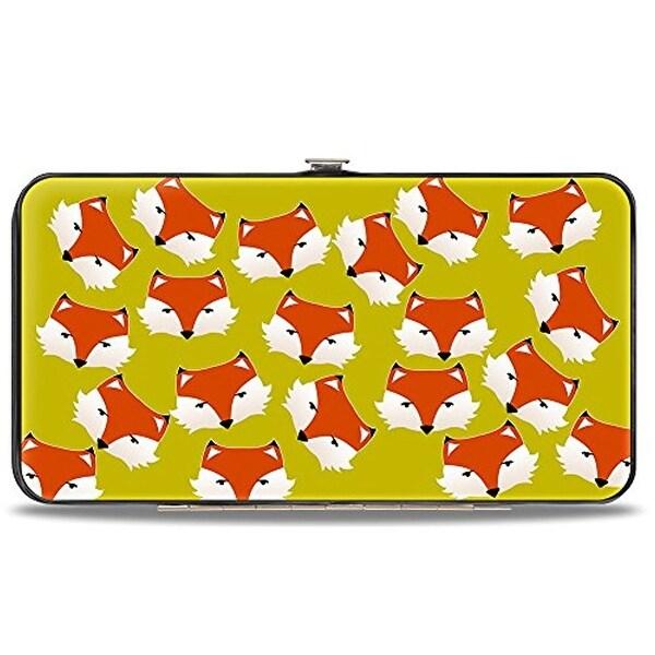 Buckle-Down Hinge Wallet - Fox